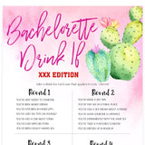 X Rated Bachelorette Drink If Game - Fiesta