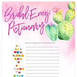 Bridal Emoji Pictionary - Fiesta