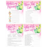 8 Bridal Shower Games Bundle - Fiesta