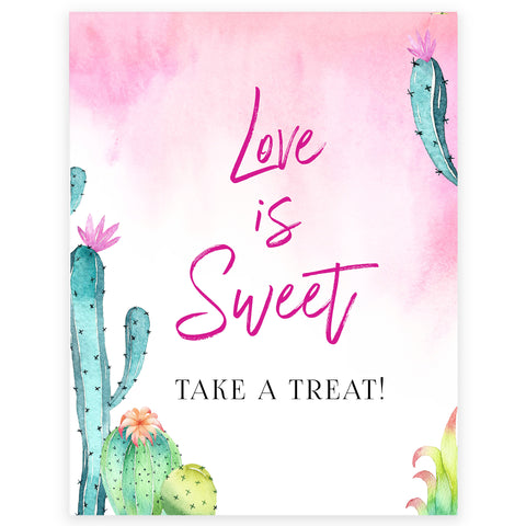 Love is Sweet Sign - Fiesta