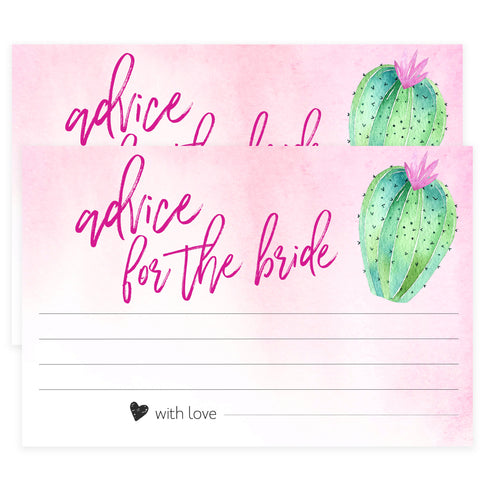 Advice for the Bride Cards - Fiesta
