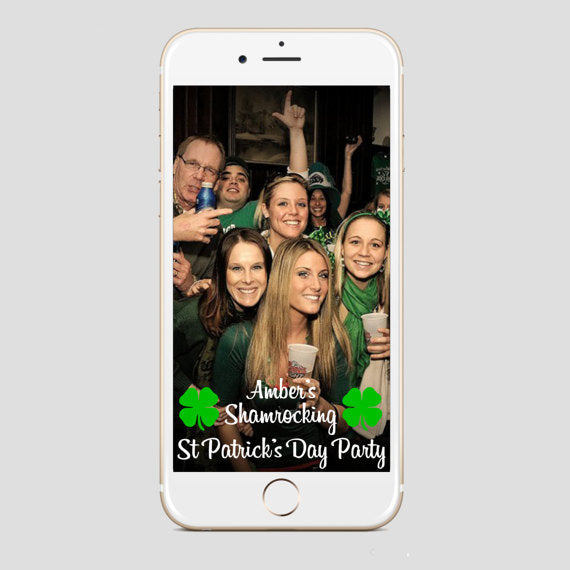 St Patricks Day Party Snapchat Filter