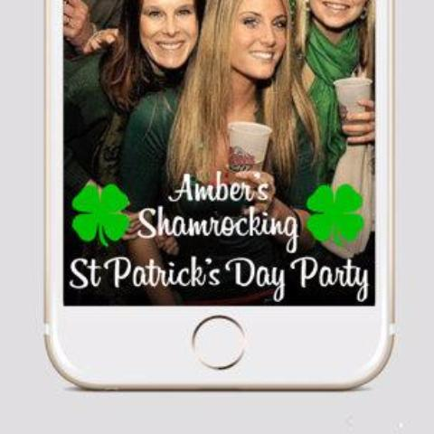 St Patricks Days Snapchat Filter