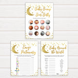Twinkle Little Star Baby Shower Games Pack, 7 Baby Shower Games Bundle, Baby Shower Games, Twinkle Twinkle Baby Shower, Baby Shower, fun baby shower games, popular baby shower games
