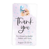 mermaid baby thank you tags, baby thank you tags, Printable baby shower games, little mermaid baby games, baby shower games, fun baby shower ideas, top baby shower ideas, little mermaid baby shower, baby shower games, pink hearts baby shower ideas