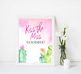Kiss the Miss Goodbye Print - Fiesta
