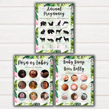 Tropical baby shower games, baby shower games bundle, Baby shower ideas, baby shower party games