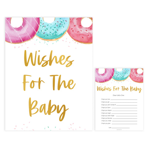 wishes for the baby game, Printable baby shower games, donut baby games, baby shower games, fun baby shower ideas, top baby shower ideas, donut sprinkles baby shower, baby shower games, fun donut baby shower ideas