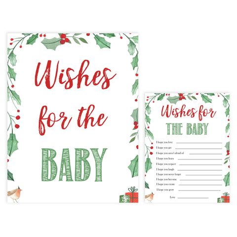 Christmas baby shower games, wishes for the baby, festive baby shower games, best baby shower games, top 10 baby games, baby shower ideas, baby shower games