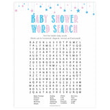 Gender reveal baby games, baby shower word search, baby word search, printable baby shower games, fun baby games, top baby games, best baby games, baby shower games
