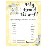 yellow elephant baby games, baby around the world baby games, yellow baby games, elephant baby shower, fun baby games, top 10 baby games, popular baby games, printable baby games