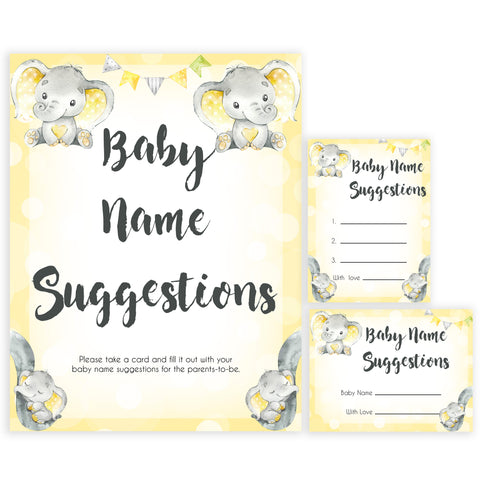 yellow elephant baby games, baby name suggestions baby games, yellow baby games, elephant baby shower, fun baby games, top 10 baby games, popular baby games, printable baby games