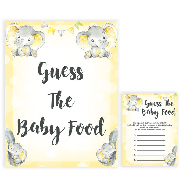 yellow elephant baby games, guess the baby birthday baby games, yellow baby games, elephant baby shower, fun baby games, top 10 baby games, popular baby games, printable baby games