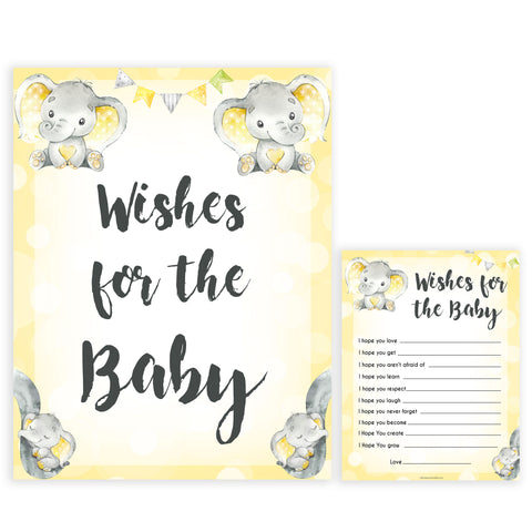 yellow elephant baby games, wishes for the baby  baby games, yellow baby games, elephant baby shower, fun baby games, top 10 baby games, popular baby games, printable baby games