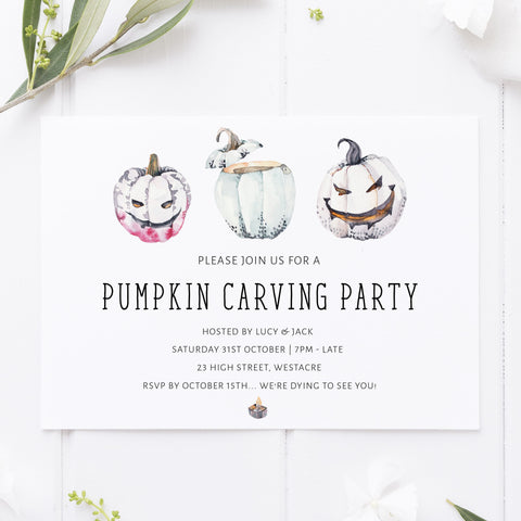 pumpkin carving party, halloween printable invitations, editable halloween invitations, fun halloween invites, halloween invites, halloween ideas