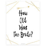 How Old was the Bride Game - Bride Tribe