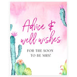 Advice & Well Wishes Sign - Fiesta