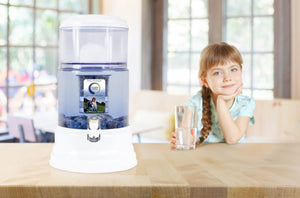 Zazen Alkaline Water System - Glass Bottom Tank