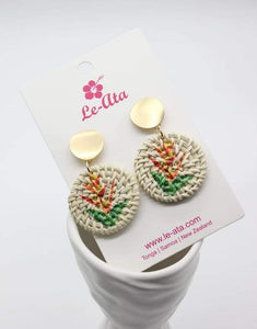 Rattan Vaepa'a Earrings