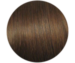 Chocolate Brown Microbead Hair Extensions