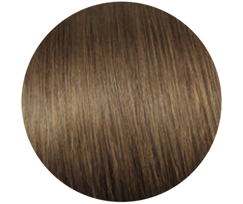 Medium Brown Microbead Hair Extensions