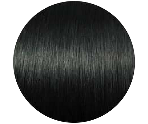 Jet Black Microbead Hair Extensions