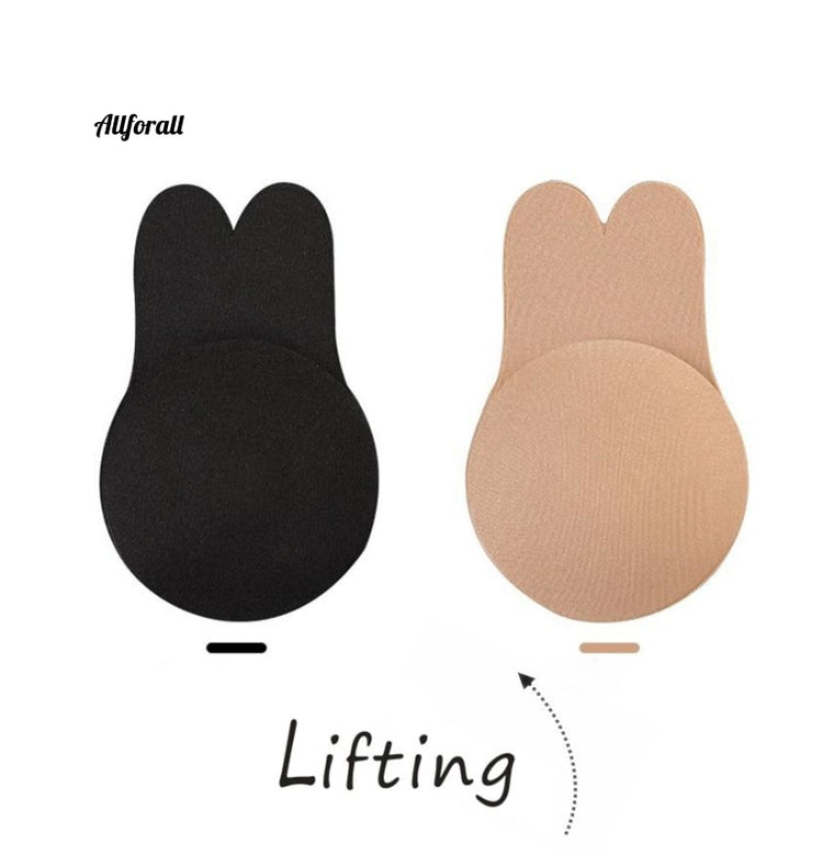 1 Paar Silikon Nippel Cover Free Cut Frauen Brust Push Up, selbstklebender weiblicher Push Up BH, neues Design Seamless Breast Lifter