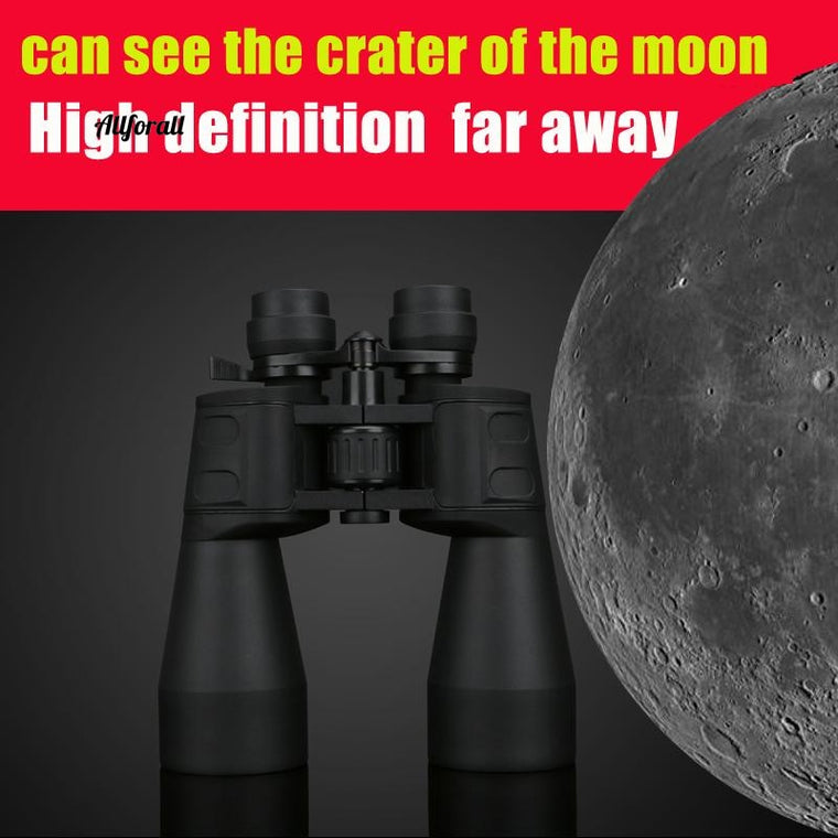 10-60 Times High Magnification HD Professional Zoom, Binoculars 10-380X100 Telescope Light Night Vision
