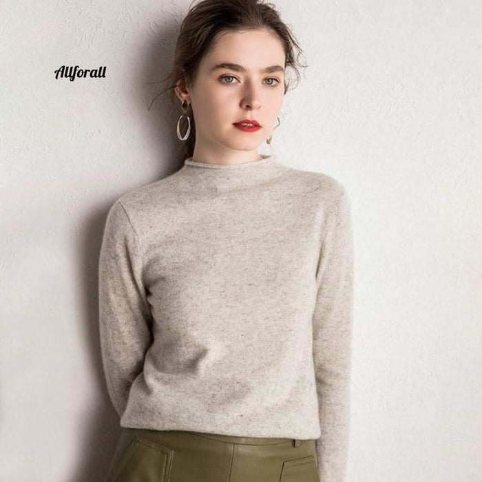 10 Colors Pure Cashmere Sweaters Women Pullovers New Fashion Winter Ladies Standard Clothes Light