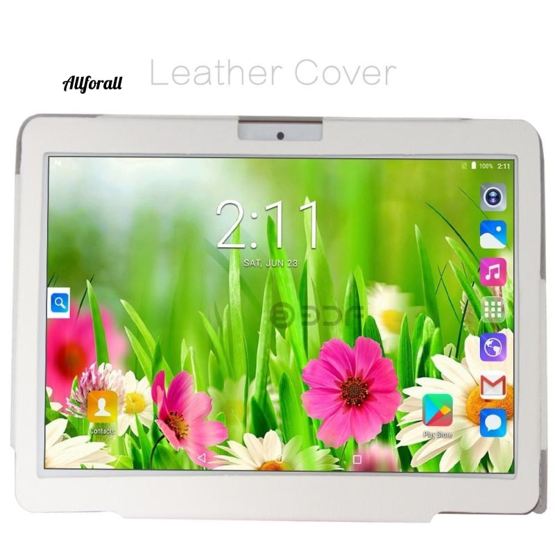 10 Inch Original 3G Phone Call Android 7.0 Octa Core Tablet pc, Android 7.0 64GB ROM, WiFi, GPS, FM, Bluetooth 4G+64G