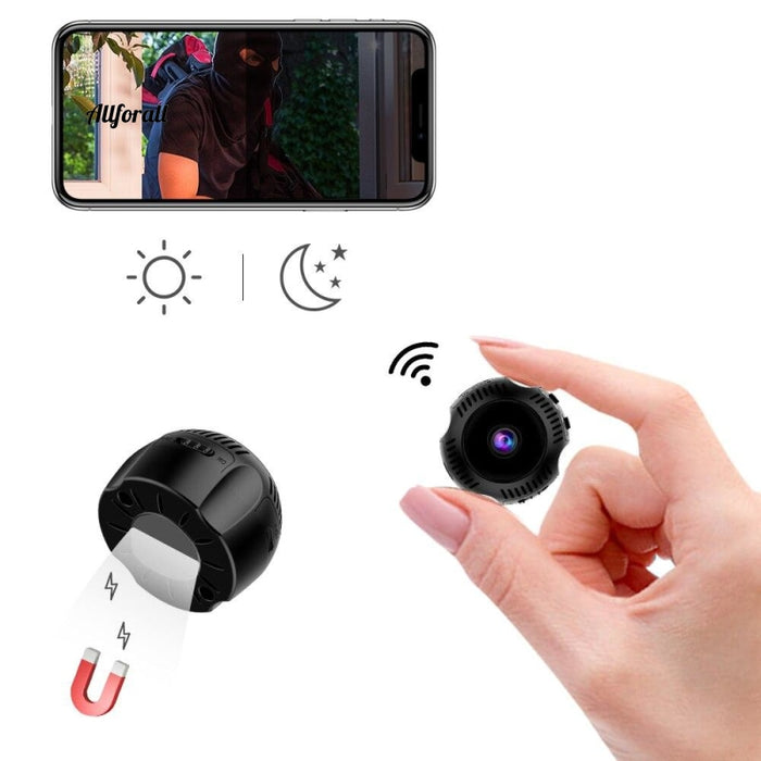 1080P Hd Fake Camera Wireless Watch Mini Infrared Night Vision Super Wide Angle Motion Detection