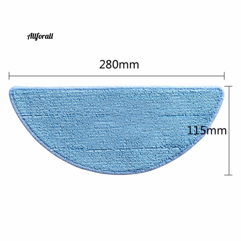 10xSide, Brush+5x, Hepa Filter+5xMop, Cloth+5xMagic Paste Accessories For ilife v5s, ilife v5 Pro, x5 V5 V3 V50 Vacuum Cleaner Part