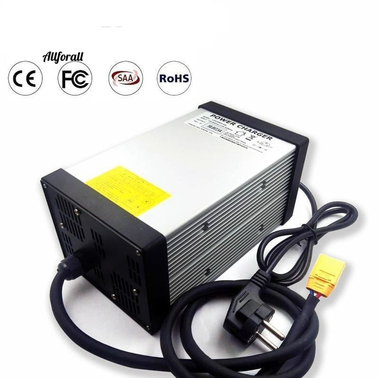 14.6V 40A Lifepo4 Lithium Battery Charger For 12V E-bike, Pack AC-DC Power Supply for Electric Tool with CE FCC