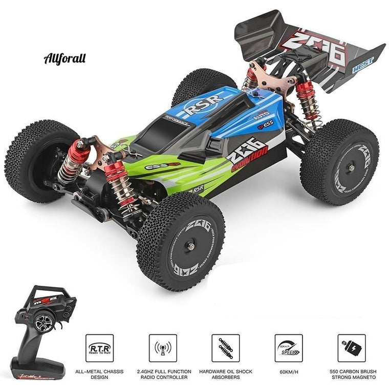 144001 A959 959B 2.4G Racing RC Car, 70KM/H 4WD Electric High Speed Car Off-Road Drift Remote Control Toy