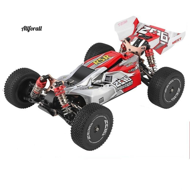 144001 RC Car, 1:14 2.4G Racing RC High Speed Car, 60km/h 4WD Off-Road Drift Electric Remote Control Toy