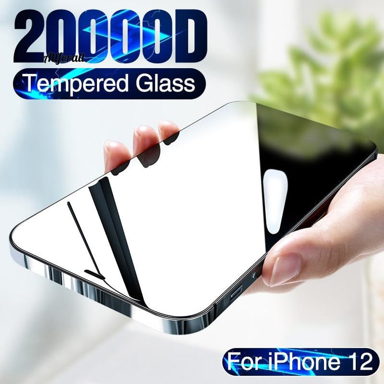 20000D Full Cover Tempered Glass για iPhone 12, Mini Screen Protector For iPhone 12 Pro Max Screen Protector iPhone 12 Glass film