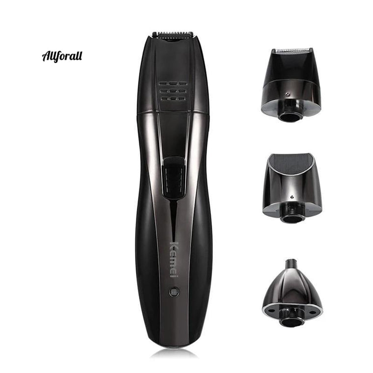 3 In 1 Professional Hair Clipper, Rechargeable Nose Beard Trimmer, Ear Sideburns Hair Trimmer Barber Shaving Machine