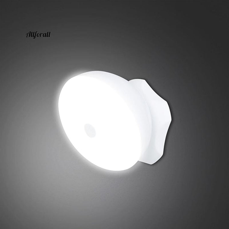 360° Smart Motion Sensor Light, LED Night Light Lamp, PIR Sensor Led Light, Long Brightness And Auto Turn On/Off