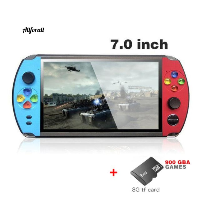4.3/5 Inch Double Rocker Handheld Game Console, Support TV Output, X12 Retro Portable Handheld Video Game Console