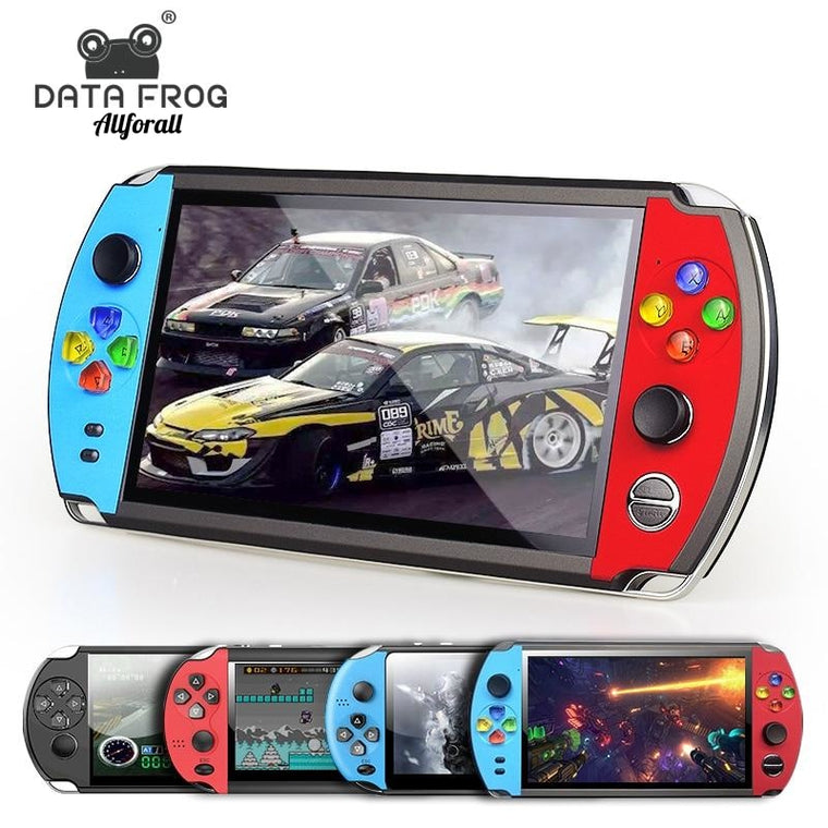 4.3 / 5 Inch Double Rocker Handheld Game Console, Ondersteuning TV-uitgang, X12 Retro Portable Handheld Video Game Console