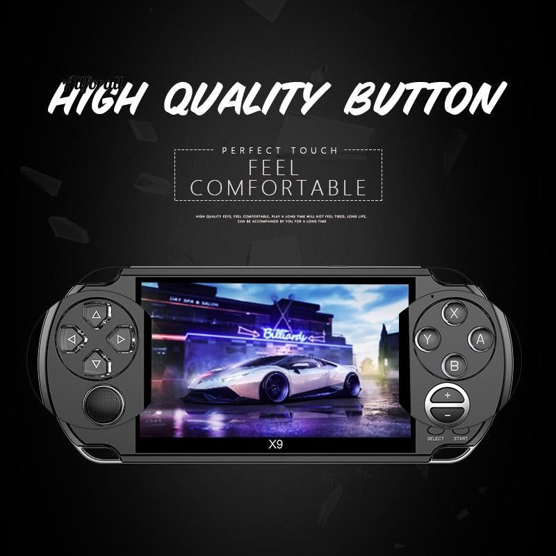 4.3/5/7 inch Portable Handheld Game Console, Dual Joystick Retro Video Game Console, Support TV Output With MP3/Movie