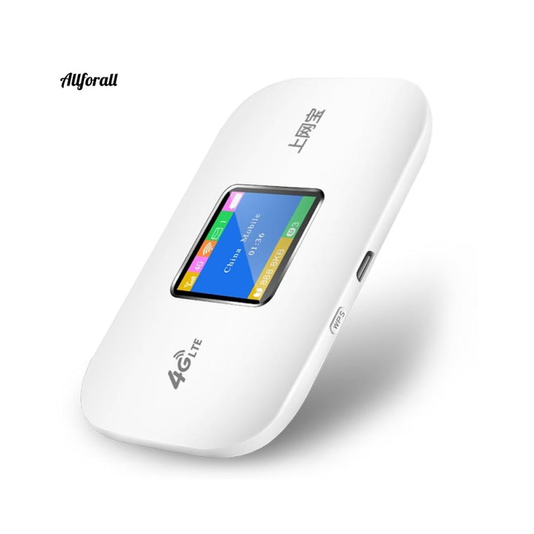 4G Wifi Router Mini Router, 3G 4G Lte Wireless Portable Pocket wifi, Mobile Hotspot & Car Wifi Router With Sim Card Slot