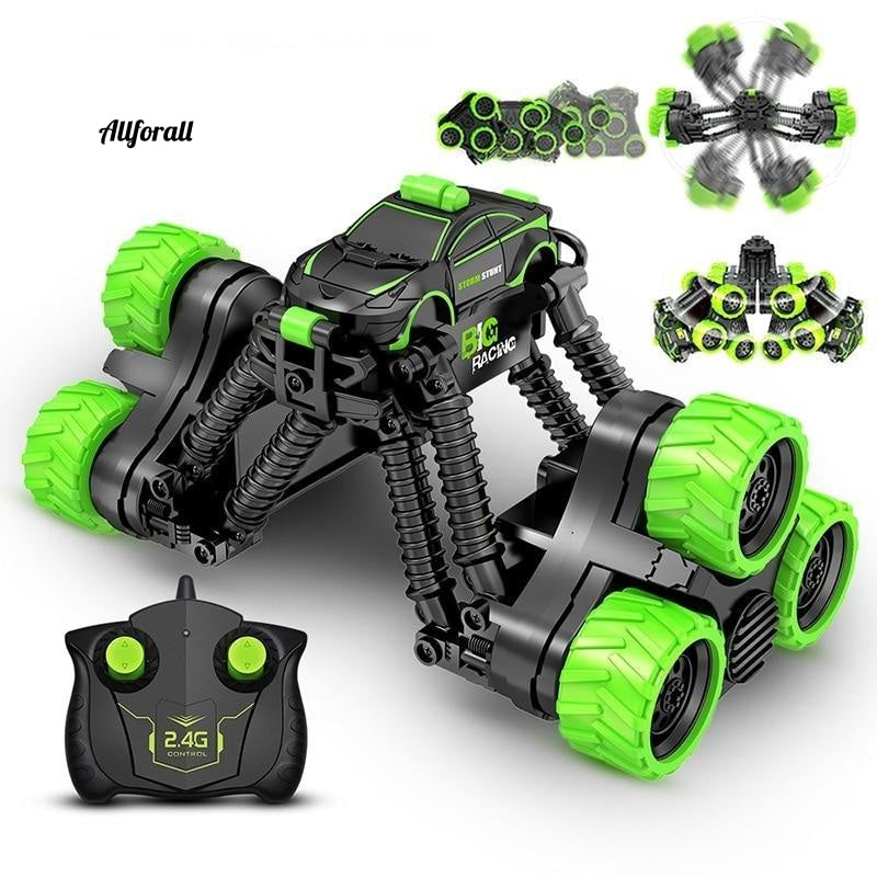 4WD Electric RC Car, Rock Crawler Remote Control Toy Car, Off-Road Radio Controlled Drive Toy