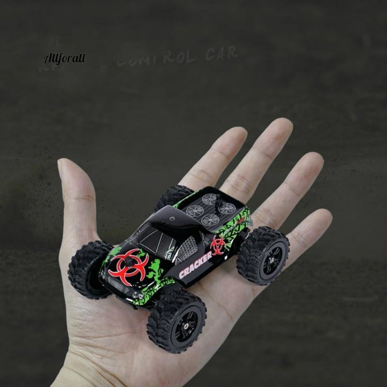9115m Mini RC Car, 1:32 Full Scale 4CH 2WD 2.4GHz Off-Road RC Racing Car Truck, High Speed 20km/h Remote Toy