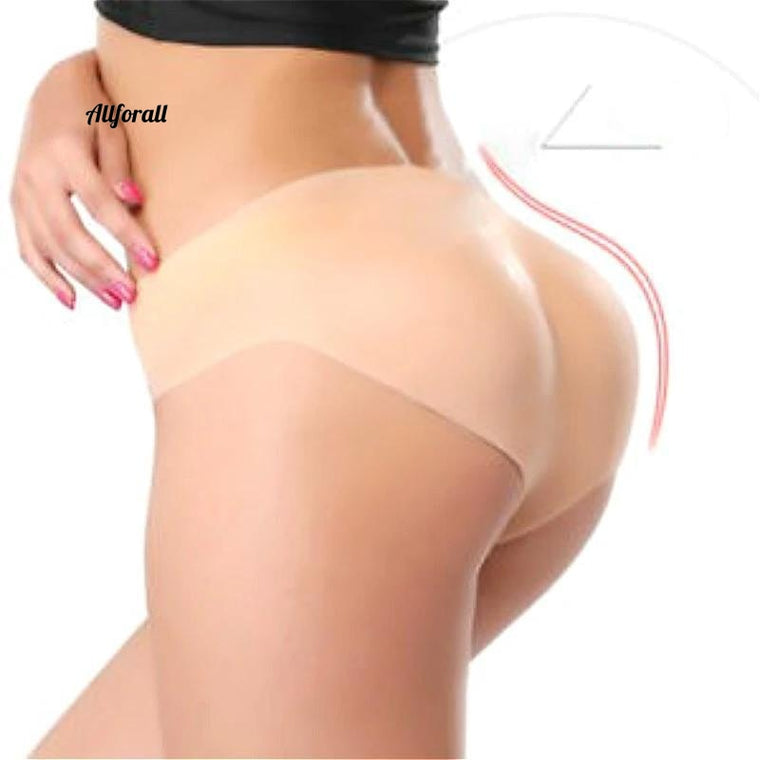 930g Women Body Sharper, Silicone Pant Sexy Padded Buttock Enhancer Sharper, Fake Soft Silicone Underwear S