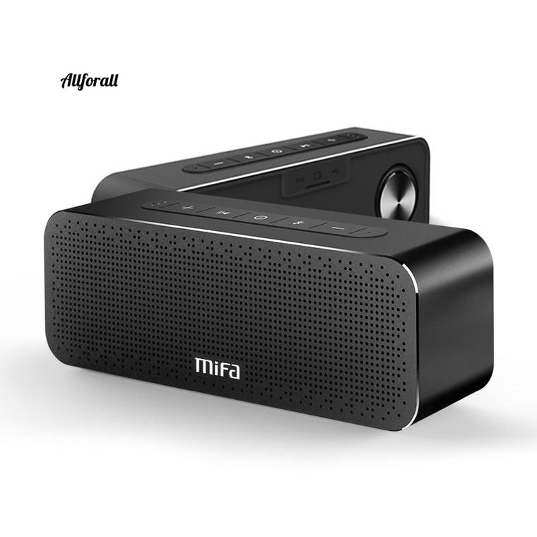 A20 Bluetooth Speaker, Metal Portable Super Bass Wireless Bluetooth 4.2 3D Digital Sound Handfree Loudspeaker, MIC TWS