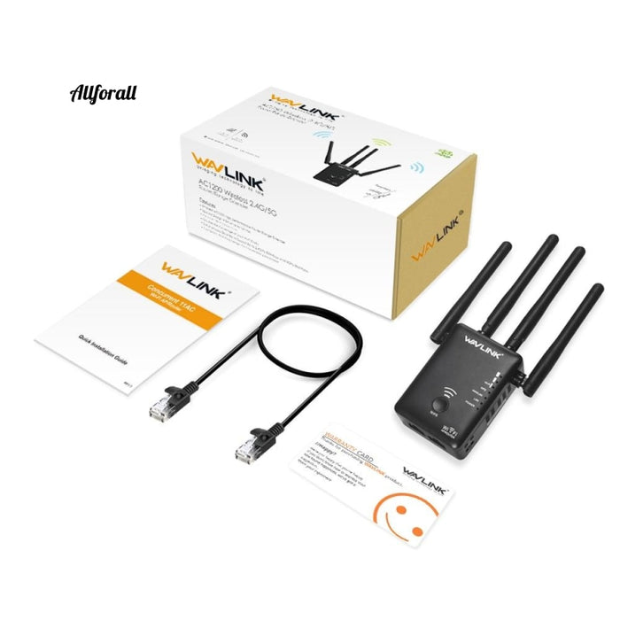 AC1200 WIFI Repeater/Router/Access point Wireless Wi-Fi Range Extender, Wifi Signal Amplifier With External Antennas