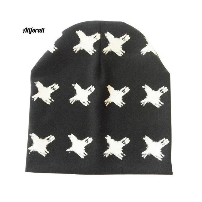 Baby Caps For Boys & Girls, Spring, Autumn & Winter Children's Hats baby-hats allforall black x