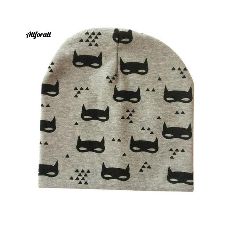 Baby Caps For Boys & Girls, Spring, Autumn & Winter Children's Hats baby-hats allforall grey batman