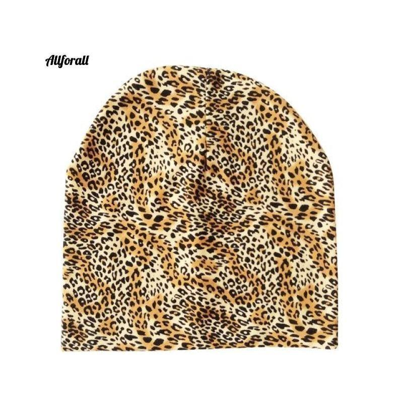 Baby Caps For Boys & Girls, Spring, Autumn & Winter Children's Hats baby-hats allforall leopard